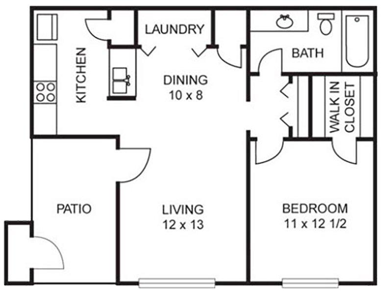 Birch - 1 Bedroom / 1 Bath