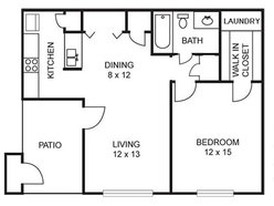 Dogwood - 1 Bedroom / 1 Bath