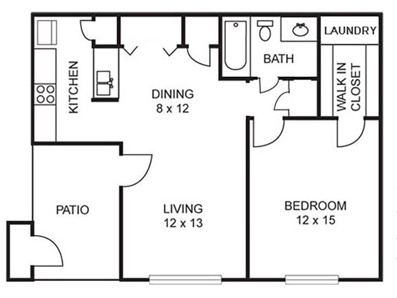 Dogwood - 1 Bedroom / 1 Bath