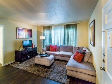 Living Room | McCain Park Apartments