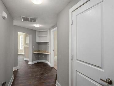 Province of Briarcliff Apartment Hallway and Built-in Desk