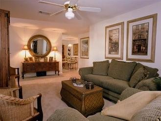 Living Area | Spring Lake