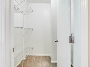 Linen Closet | The View Apartments & Townhomes