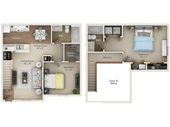 Two Bedroom Two Bath (C1)