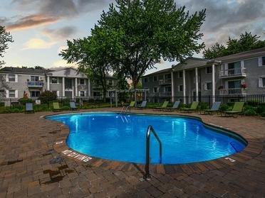 Swimming Pool   Township Court Apartments in Saginaw, MI