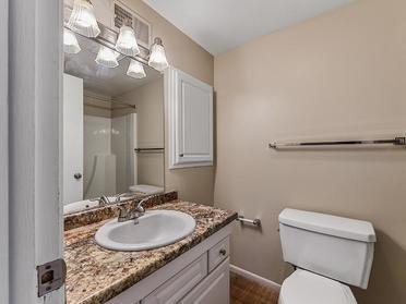 Bathroom   Township Court Apartments in Saginaw, MI