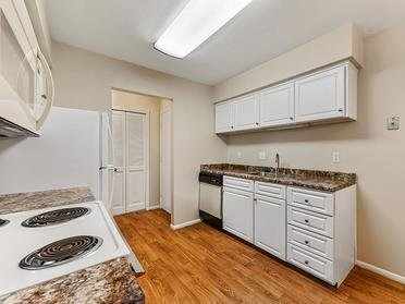 Kitchen   Township Court Apartments in Saginaw, MI