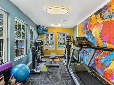 Fitness Center   Township Court Apartments in Saginaw, MI