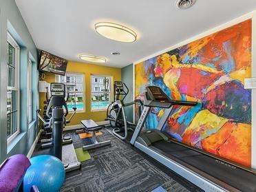 Gym   Township Court Apartments in Saginaw, MI