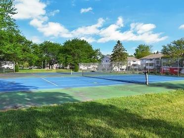 Tennis Court   Township Square Apartments in Saginaw, MI