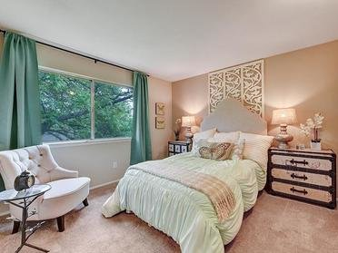 Bedroom Window   Township Square Apartments in Saginaw, MI