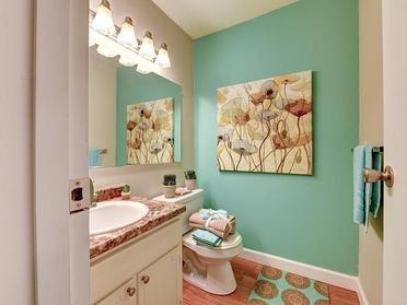 Bathroom   Township Square Apartments in Saginaw, MI