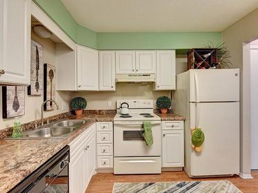 Kitchen   Township Square Apartments in Saginaw, MI
