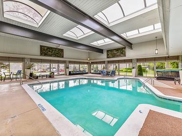 Indoor Pool   Township Square Apartments in Saginaw, MI