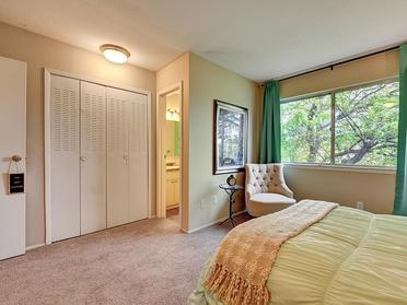 Bedroom Closet   Township Square Apartments in Saginaw, MI
