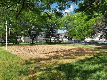 Volleyball Court   Township Square Apartments in Saginaw, MI