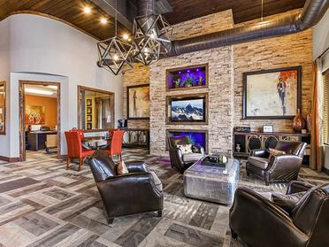 Clubhouse Interior   Township Square Apartments in Saginaw, MI
