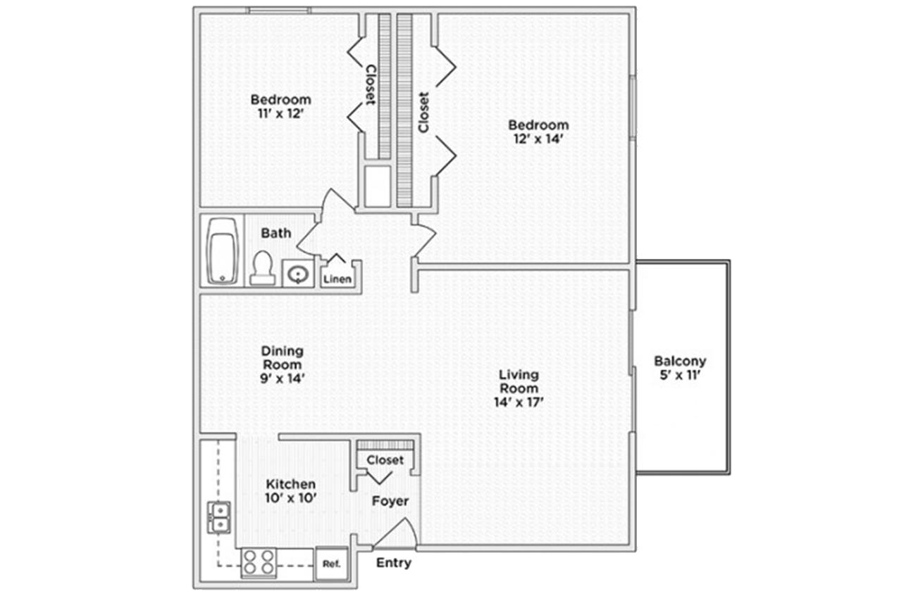 Township Square Apartments Saginaw Mi
