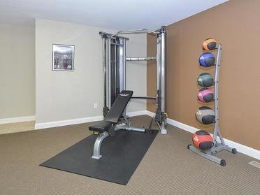 Gym | Village 1 Apartments