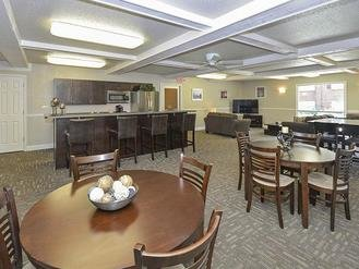 Club House Dining Area | Village 1 Apartments