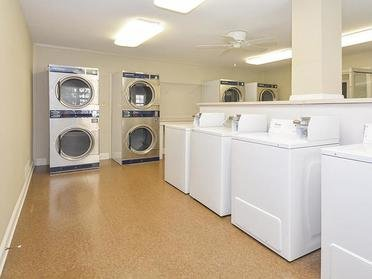 Village 1 Apartments Resident Laundry Room