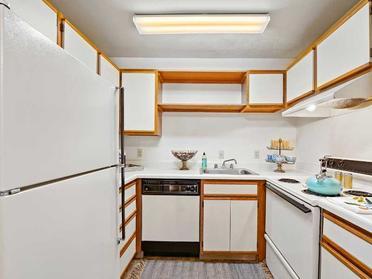 Kitchen view 3 - Village 1 apartments