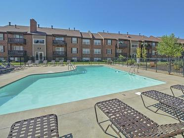 Village 1 Apartments Outdoor Pool and Sundeck