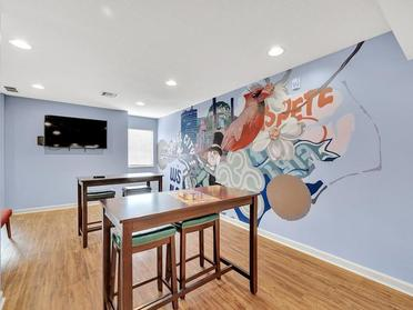 Clubhouse Seating | Vivo Apartments in Winston Salem, NC