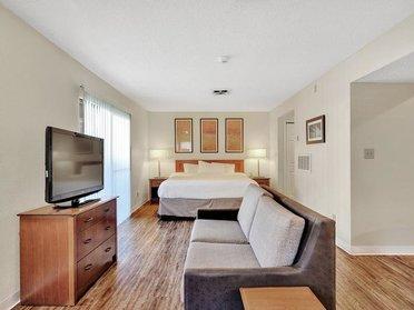 Living Room | Vivo Apartments in Winston Salem, NC