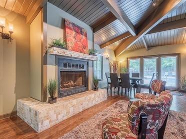 Fireplace | Woods Edge