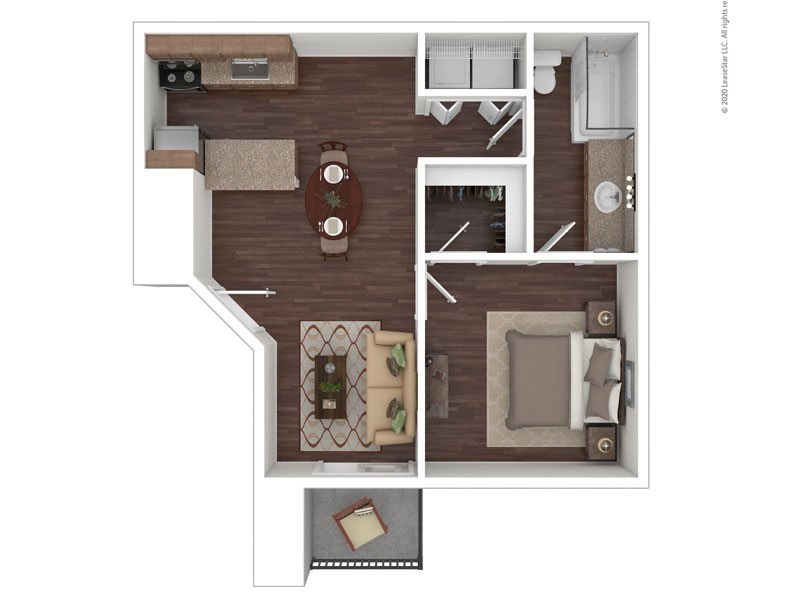 Willow Cove Apartments Floor Plan The Haven