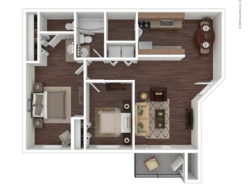 View floor plan image of The Homestead apartment available now