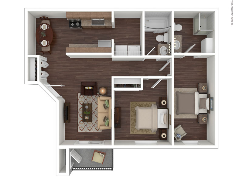 Willow Cove Apartments Floor Plan The Ranch