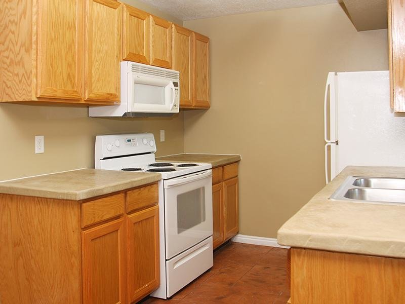 Kitchen at Willow Cove Apartments in West Jordan,