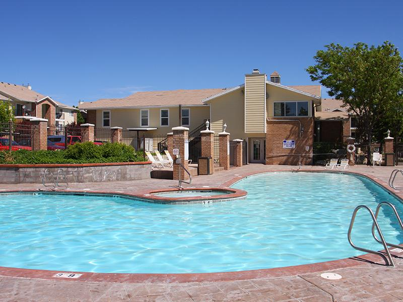 Year-Round Hottub - West Jordan Apartments