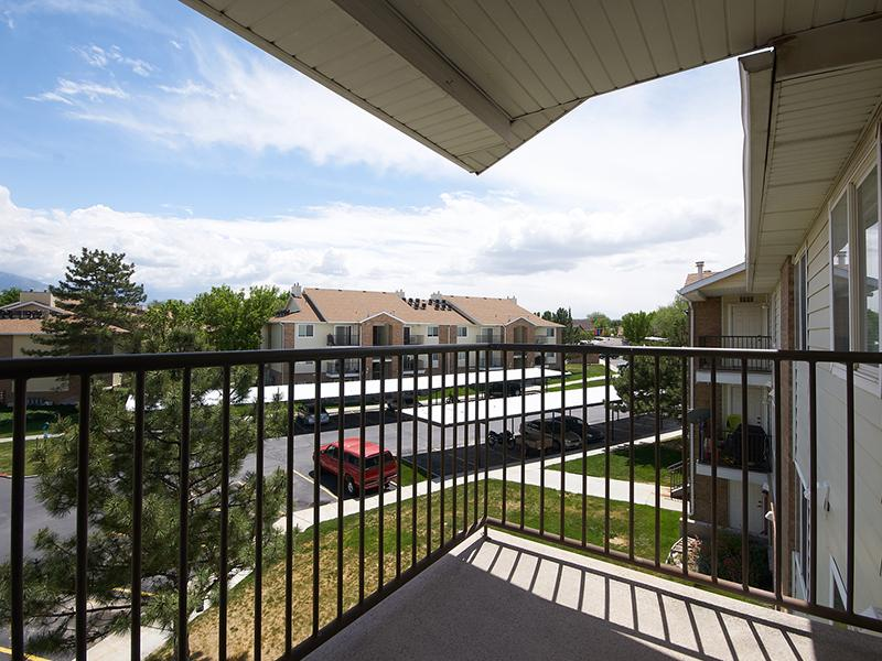 Balcony | Willow Cove Apartments