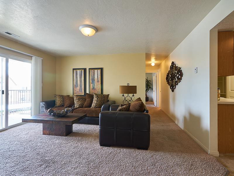 Model Living Room | Willow Cove Apartments