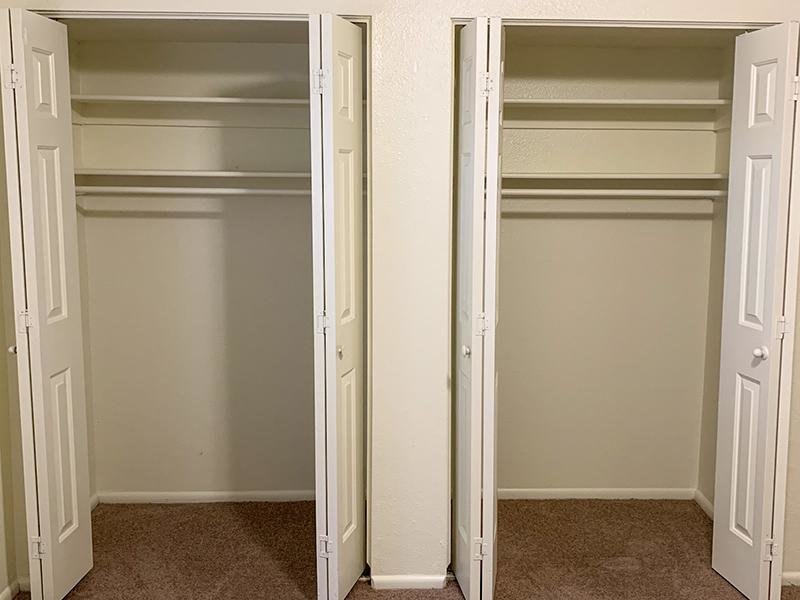 Ample Closet Space | Atherton Park Apartments