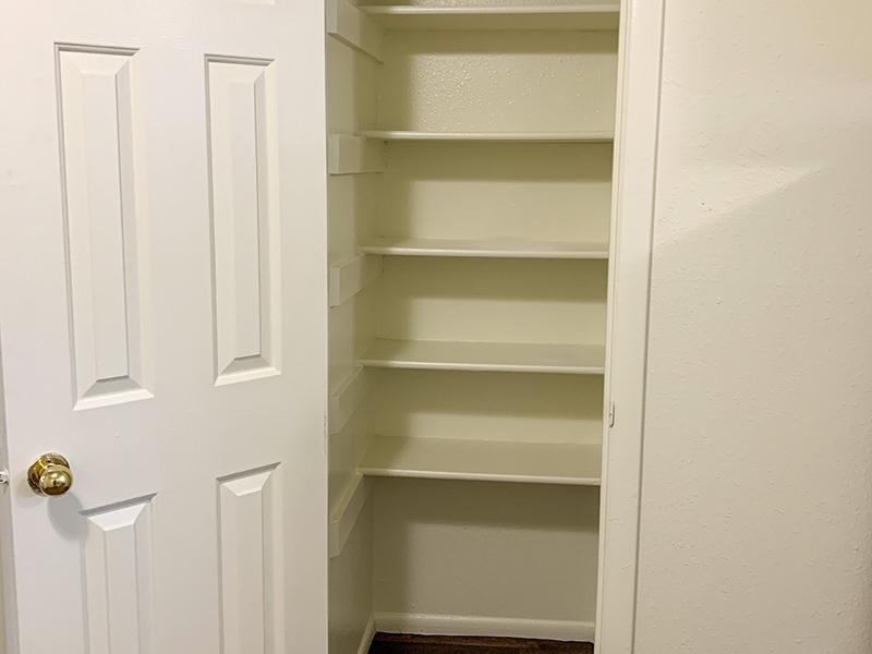Closet Space | Atherton Park Apartments
