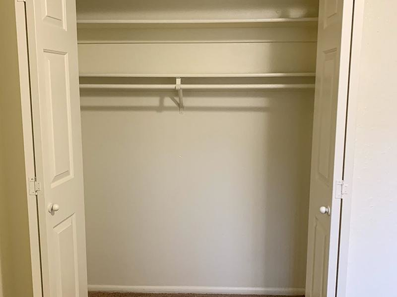 Bedroom Closet | Atherton Park Apartments