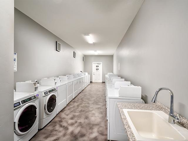 Resident Laundry Room | Atherton Park Apartments