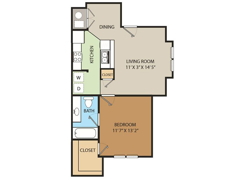 Country Springs Apartments Floor Plan TheGlen