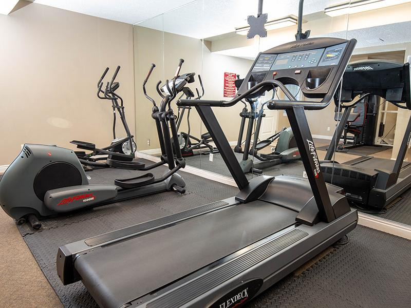 Fitness Center | Country Springs Apartments