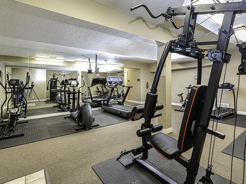 Gym | Country Springs Apartments