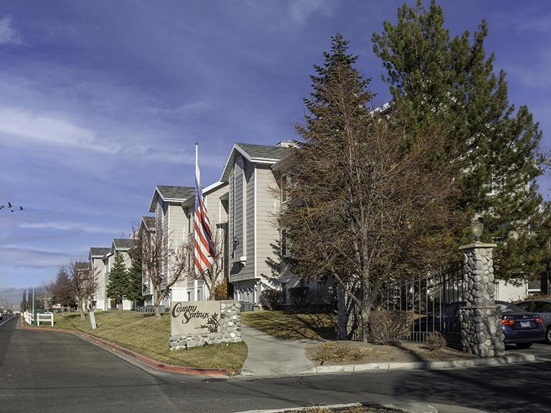 Property Entrance | Country Springs Apartments