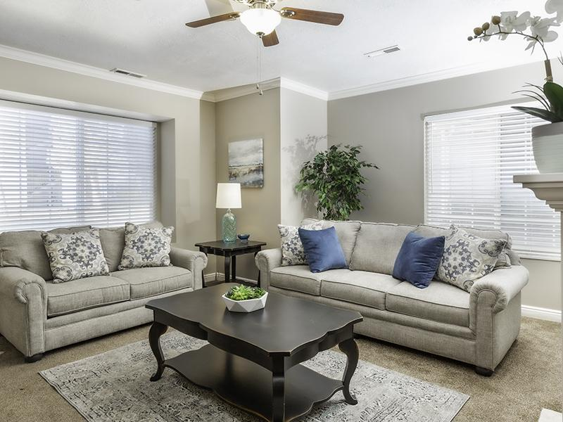 Living Room | Country Springs Apartments
