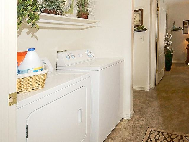 Laundry Room | Coventry Cove Senior Apartments