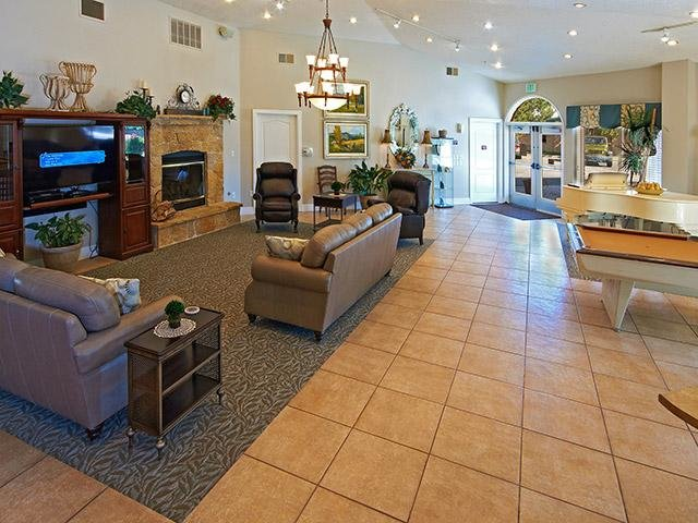 Amazing Resident Lounge | Coventry Cove Senior Apartments