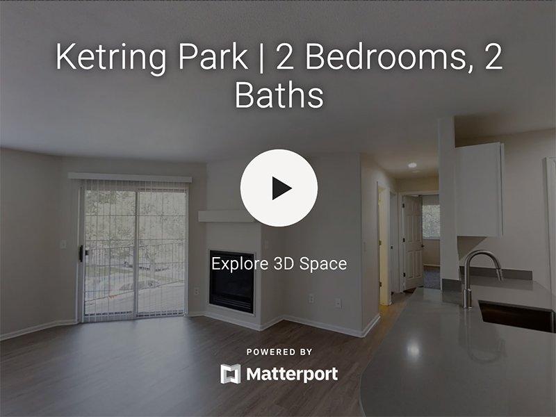 3D Virtual Tour of Ketring Park Apartments