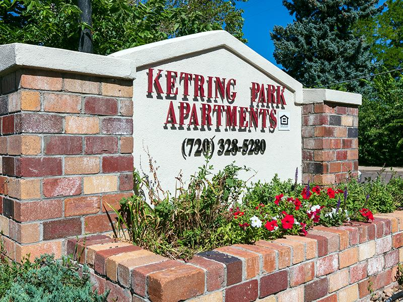 Sign | Ketring Park Apartments in Littleton, CO